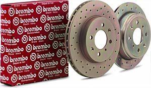 Brembo Racing Drilled Discs